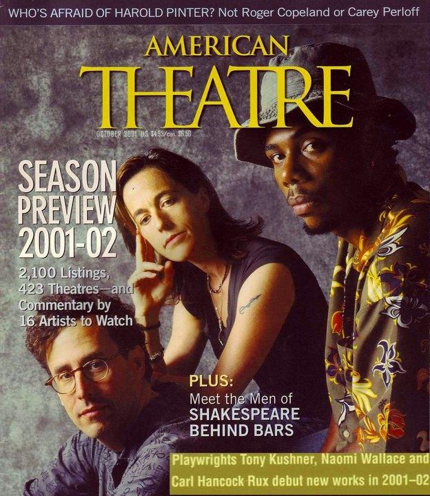 Carl Hancock Rux American Theater Magazine