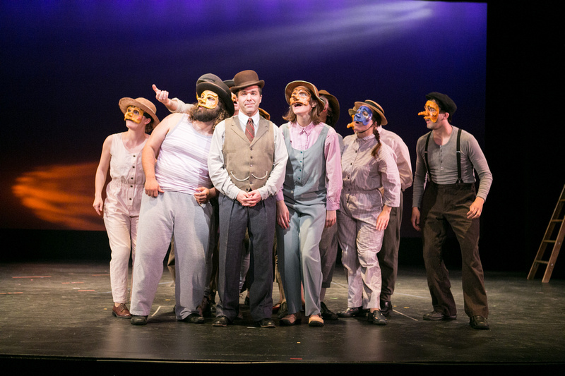 """Rebecca Gibbs (among many others) in """"Our Town"""""""