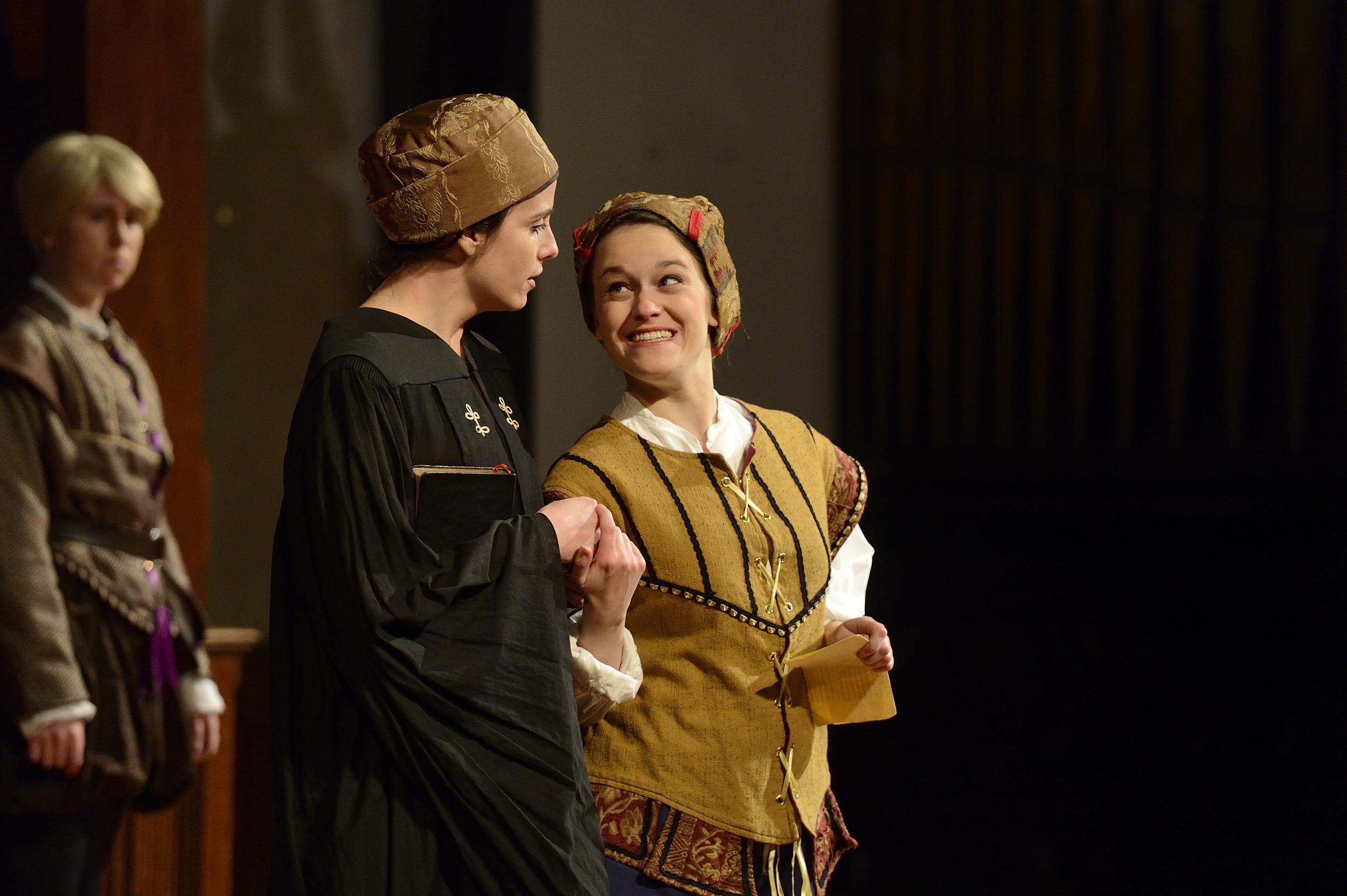 "Nerissa in ""Merchant of Venice"""