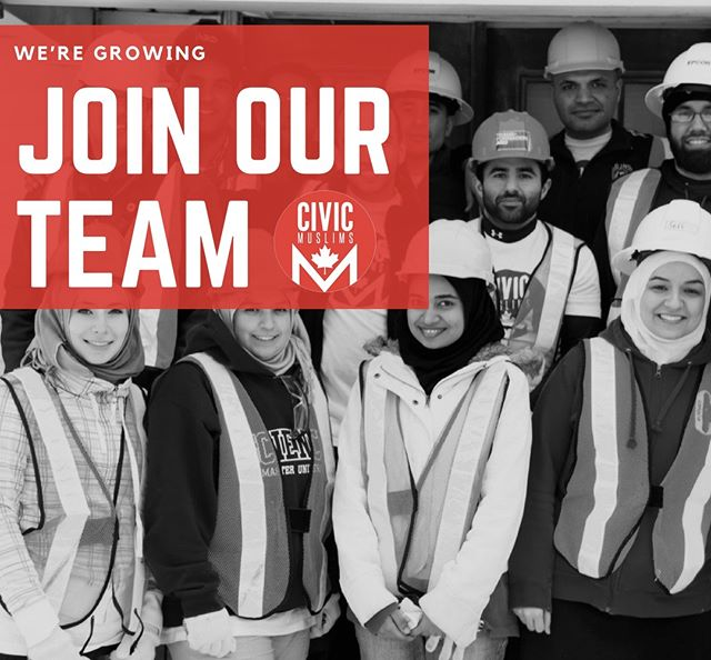 🥁 Are you ready to make a DIFFERENCE? Join our Executive Team and let's give back to our communities! Click the #linkinourbio and together we can help change lives. 🙌🏼 👥 ☀️#VolunteerConnectGrow #CivicMuslims#volunteer ⠀ .⠀ .⠀ .⠀ #toronto #brampton #mississauga #blogto#volunteer #causes #nonprofit #dogood#charity #SocialGood #VolunteersofCanada