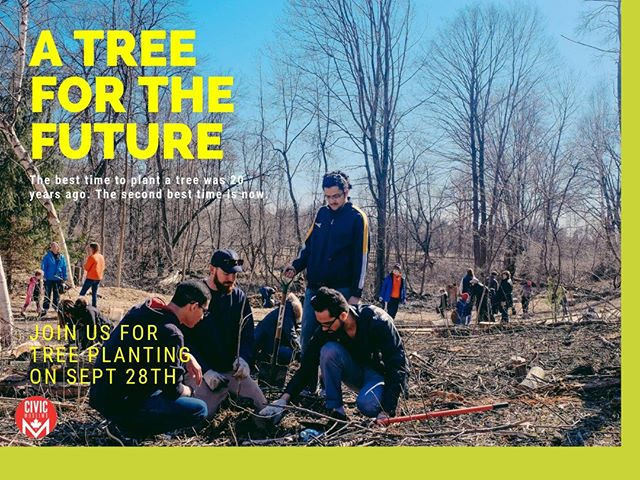 HURRY! Only 10 more spots are available for our community tree planting event with @mississaugapf. We helping the city plant 150 trees on September 28th to help reach its goal of planting #onemilliontrees! 🌳🌳🌳🌳⠀ ⠀ Click the link in our bio to get your tickets before it's too late!⠀ .⠀⠀ .⠀⠀ .⠀ #CivicMuslims #DoGood #TreePlanting #Sustainability #Ecological #GreenFootprint #GlobalWarming #ClimateChange #Volunteering #Mississauga #Volunteer #SocialGood #Community #SocialImpact #GivingBack #MakeaDifference