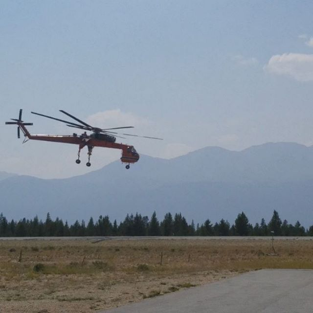 #ericksonhelicopters #leadville #prehistoric #smokymountains #flying