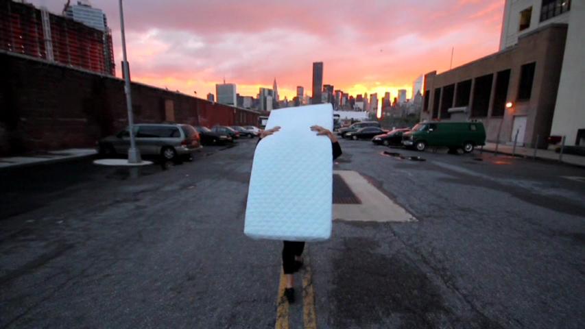 Vessna Perunovich, Unoccupied NY, video still, 2012.