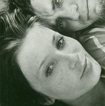"Vitas Luckus    ""Self portrait with Tanya."""