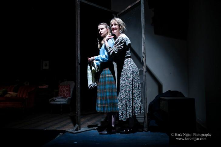 Lexi McRae (L) with Annette Stokes - photo by Hark Nijar