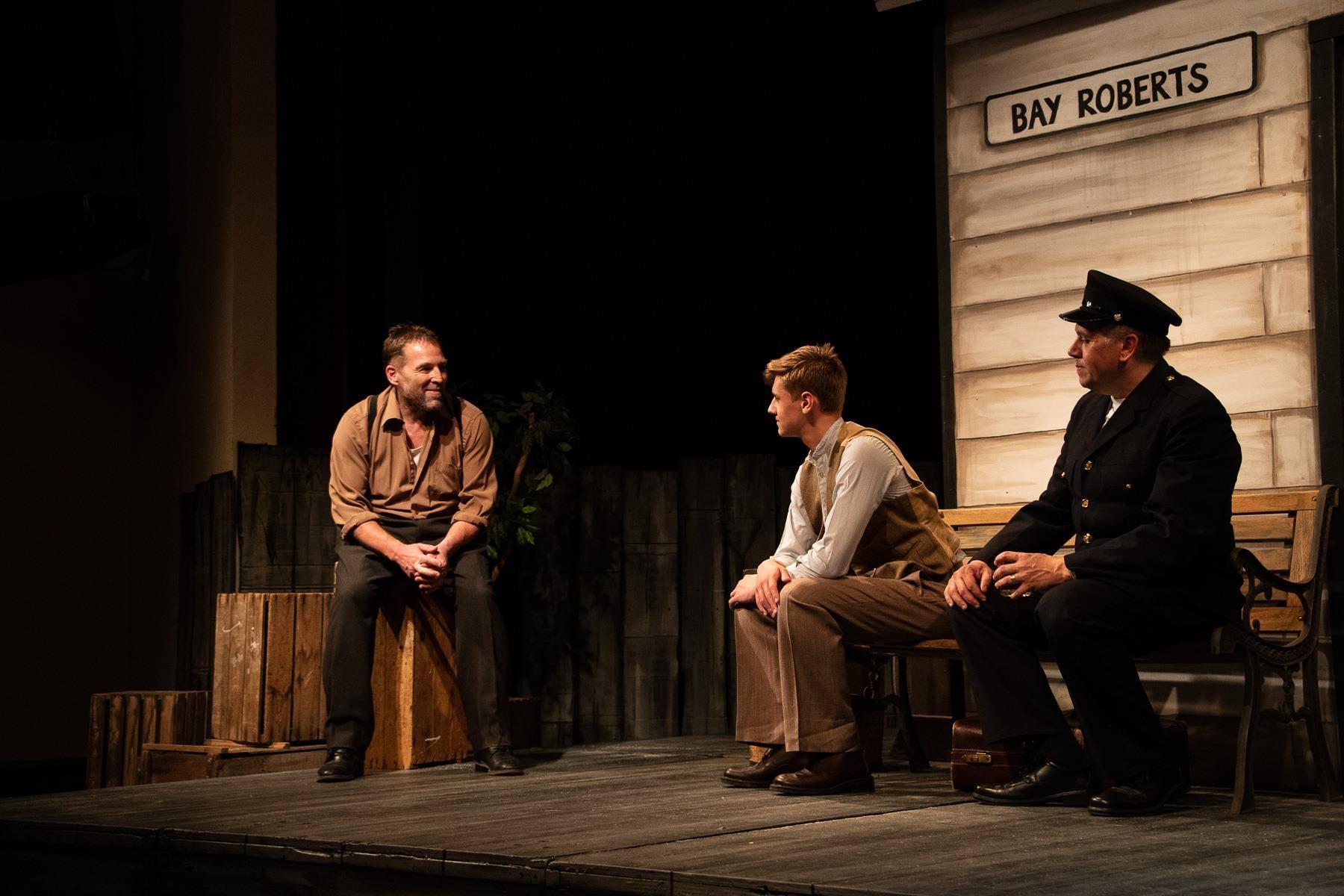 L - R: Bryan Mailey, Hayden Lysecki, Glen Warren. Photo by Jonathan van Bilsen.