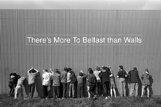Belfast Tourism promotion poster