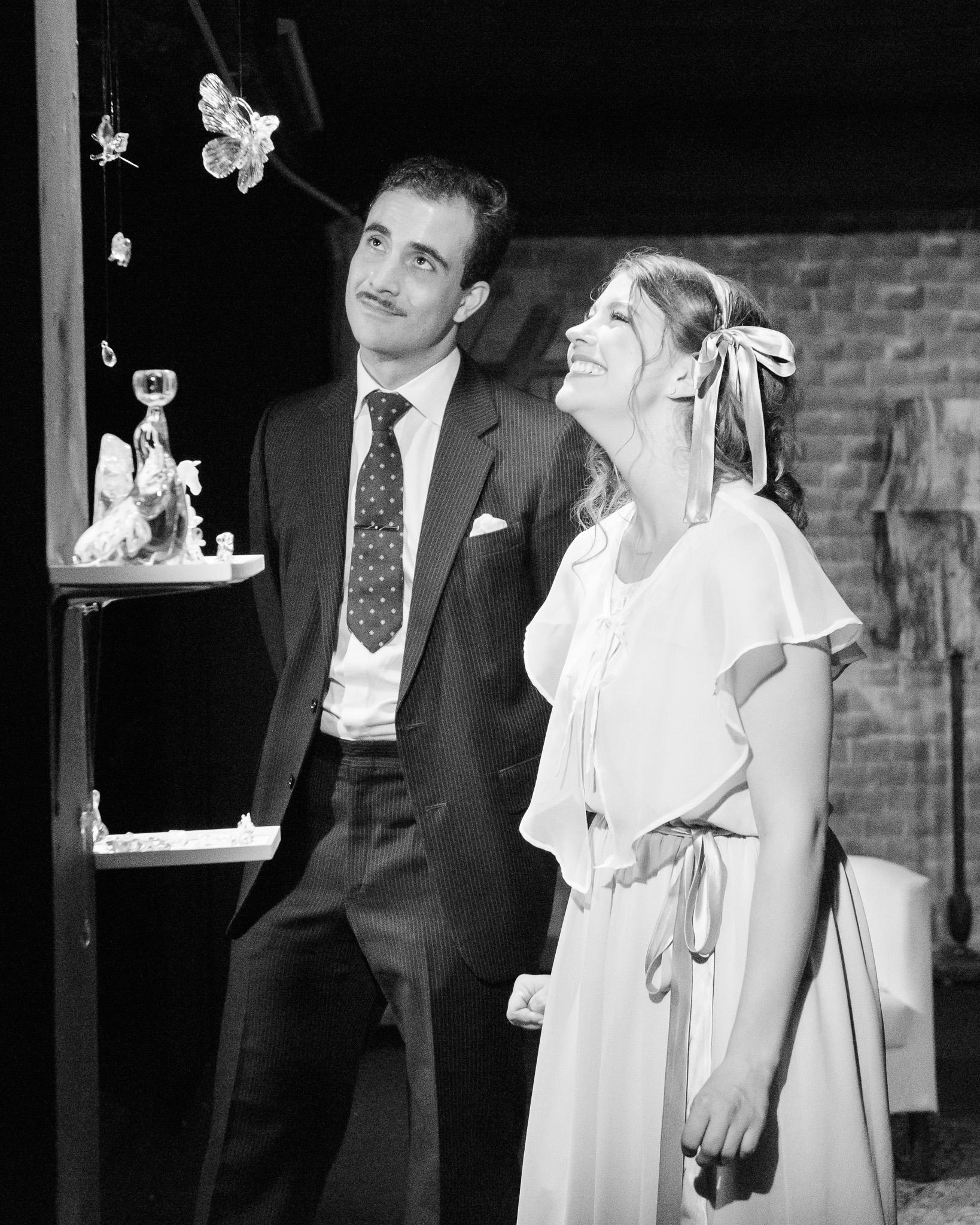 John Shubat as Jim and Claire MacMaster as Laura. Photo by John Ordean