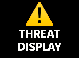 WHAT IS A THREAT DISPLAY?