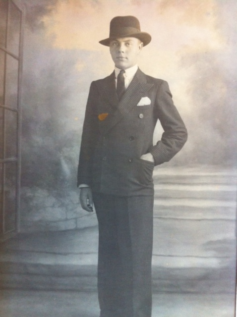 Portrait of Charles Piper, Circa 1930.