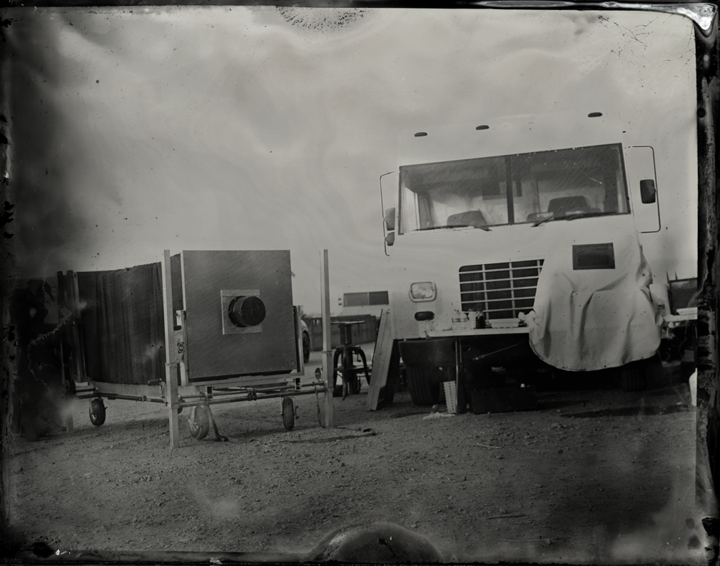 Time Machine and 40 x 40 Camera  Photograph by Gary Oldman