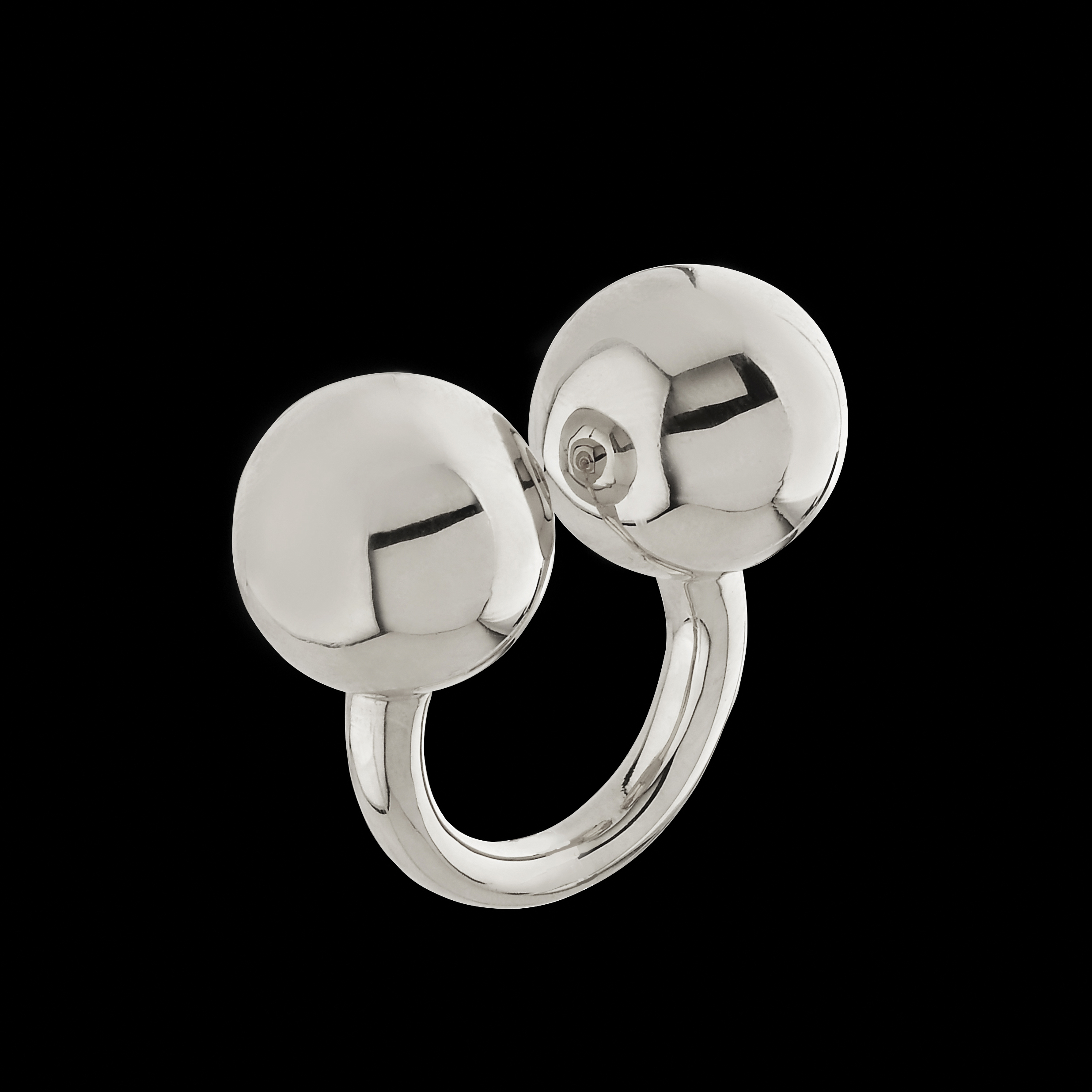 double sphere massage rings