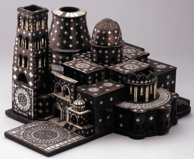 Model of the Church of the Holy Sepulchre  , 1750s.