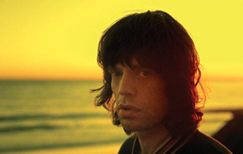 Malibu Sunset, Mick Jagger,  1976 by Carinthia West
