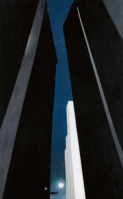 City Night , by Georgia O'Keeffe, 1926
