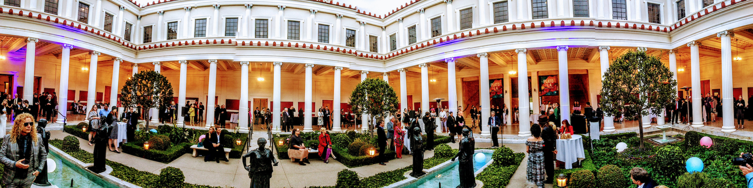 The Getty Villa.  Photograph Rex Gelert