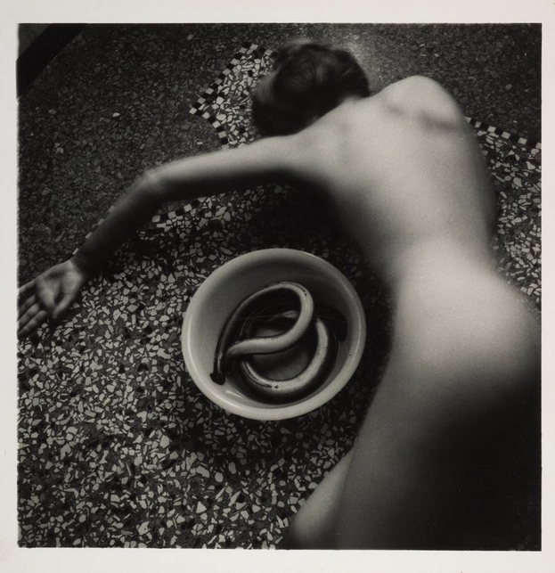 Francesca Woodman   Eel Series, Roma, May 1977 - August 1978   1977–8 Tate / National Galleries of Scotland © Courtesy of Charles Woodman