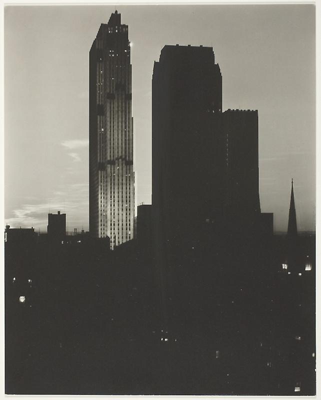 New York from the Shelton , Alfred Stieglitz