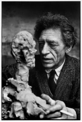 Alberto Giacometti - Photo by Henri Cartier-Bresson