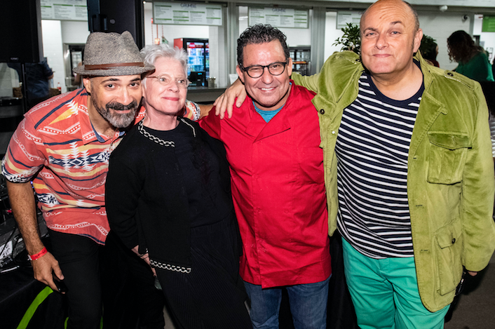 Garth Trinidad, Susan Williams, Chef Ben & Nigel Daly