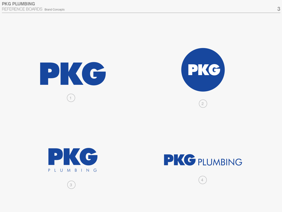Logo variations for separate applications