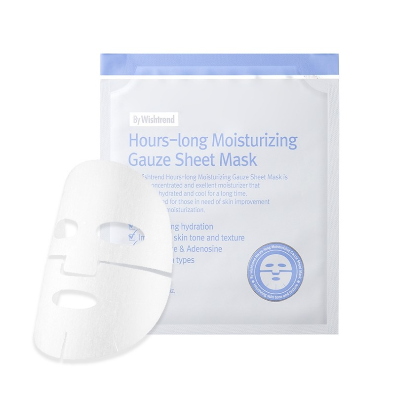 HOURS LONG MOISTURIZING GAUZE SHEET MASK KR. 59,-