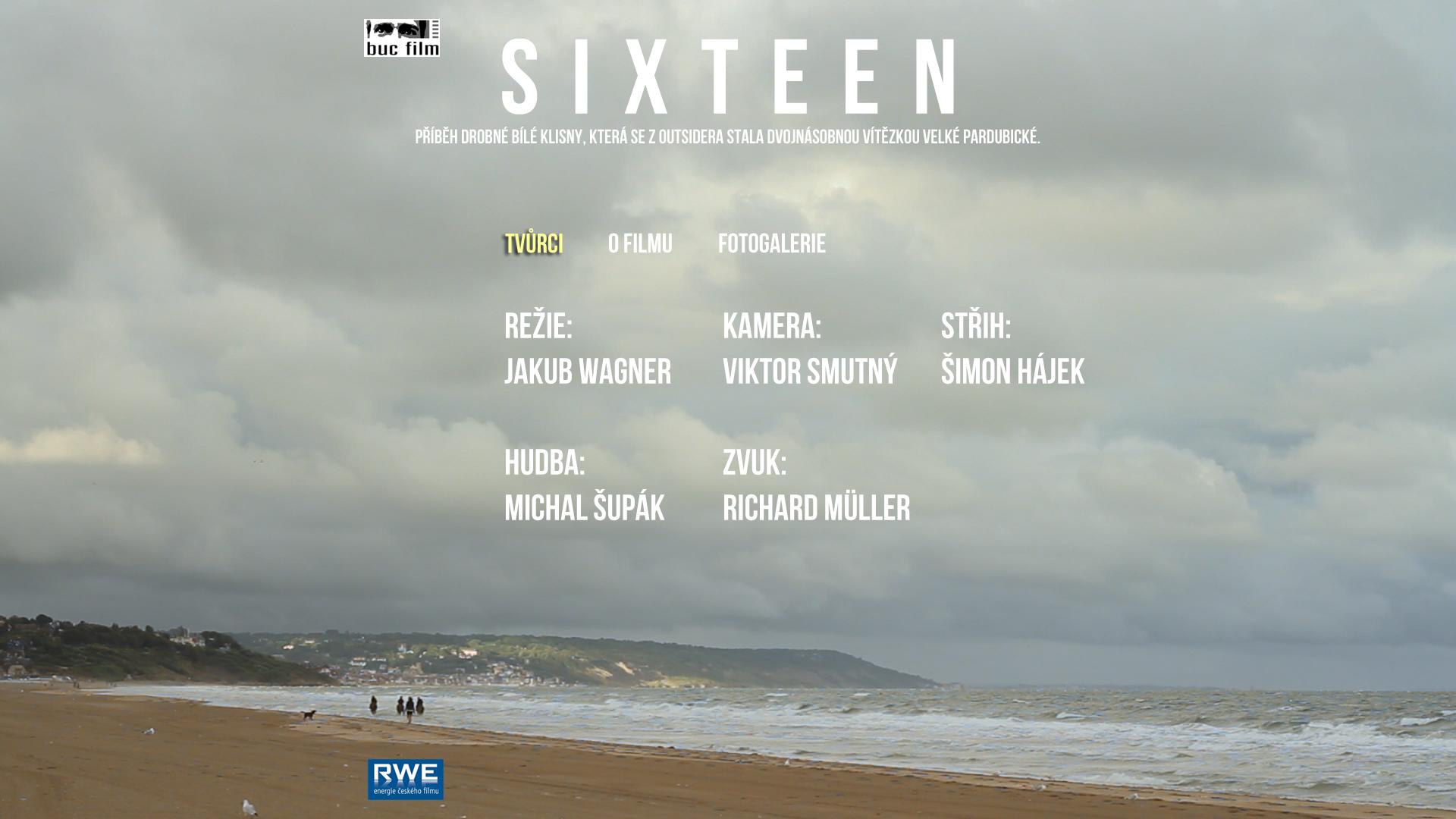Music for TV Documentary  Sixteen  directed by Jakub Wagner and produced by Jaroslav Bouček. http://www.bucfilm.cz/sixteen/tvurci.htm
