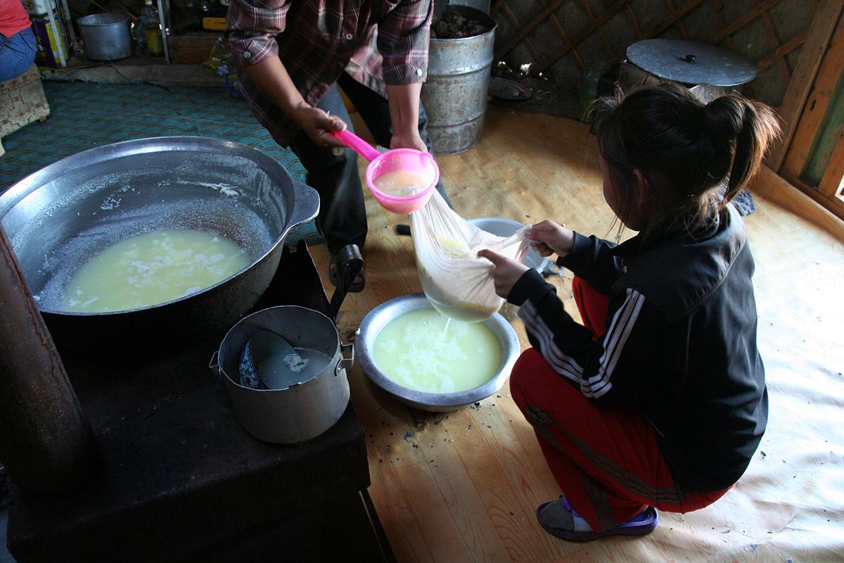 Purevee making cheese.JPG