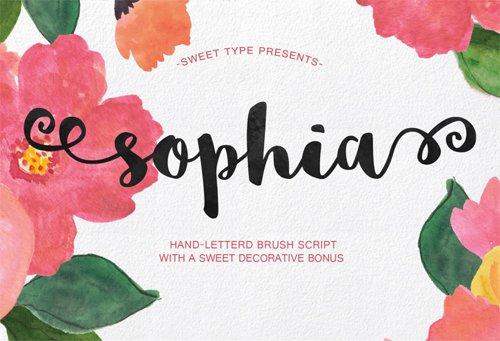 KSD : Krishna Solanki Designs - Sophia font