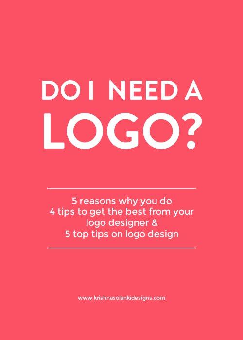 Do I need a logo?