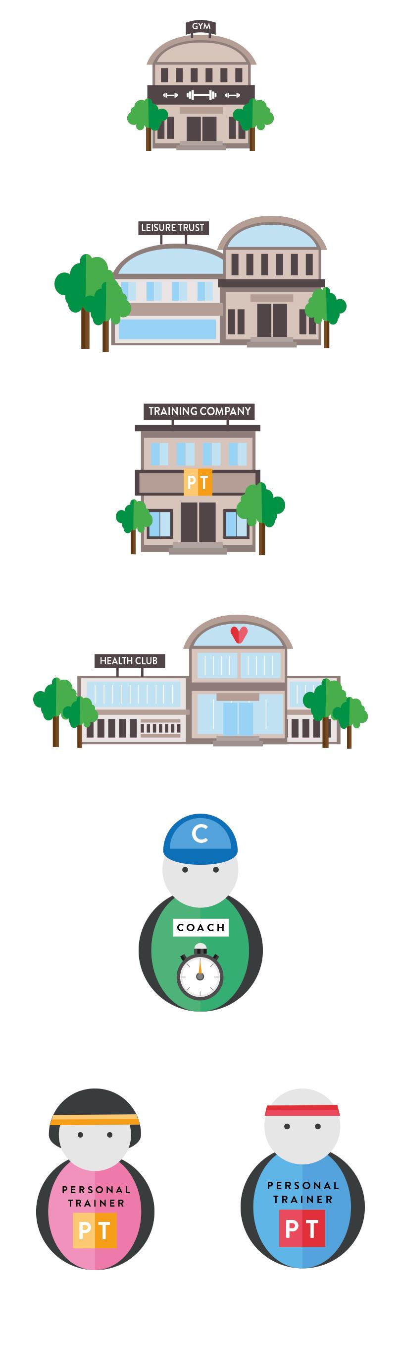 PT PLUS bespoke icons