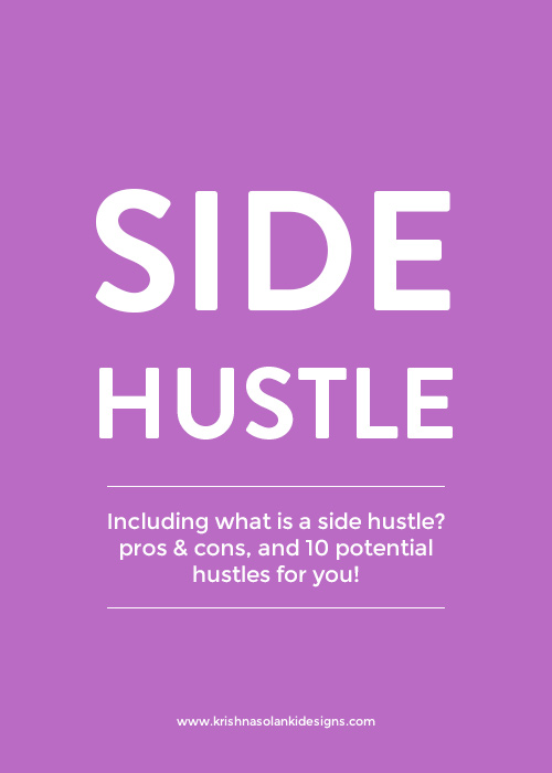 Side hustle - a quick overview