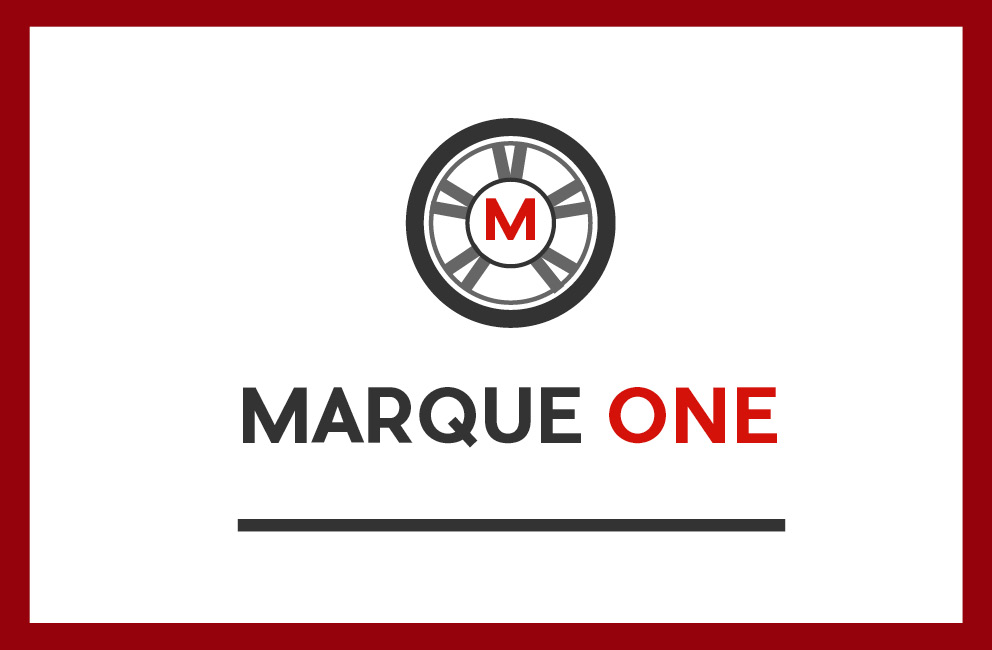 Marque One - Business card (front)
