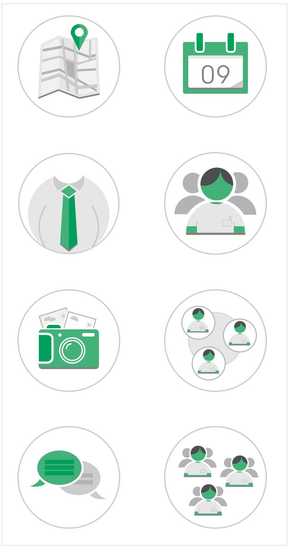 Eventility icon design