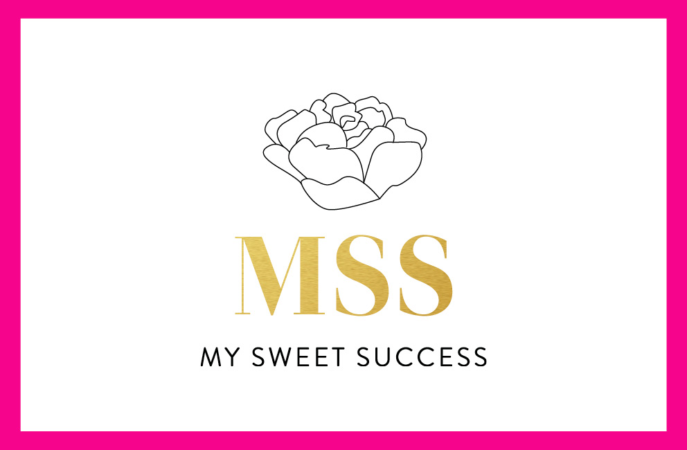 My Sweet Success - Business card (front)