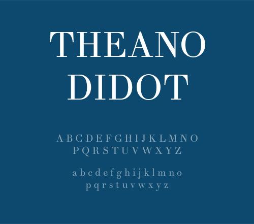 8 FREE Didot Style Fonts - Theano Didot