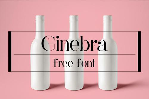 8 FREE Didot Style Fonts - Ginebra