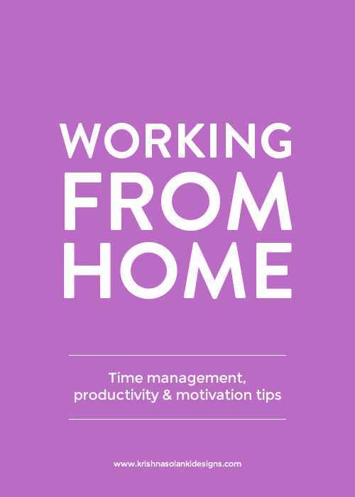 Working Fom Home - Time Management, Productivity and Motivation Tips