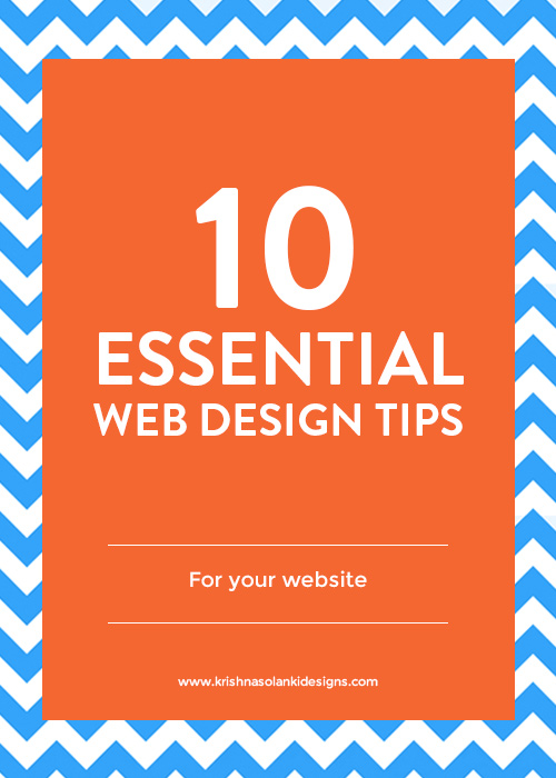 10 Essential Web Design Tips You Need To Know For Your Website