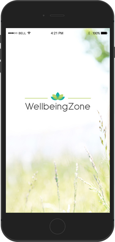 WellbeingZone Mobile App Design