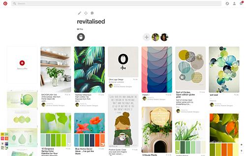 Krishna Solanki Designs - Revitalised Pinterest homework