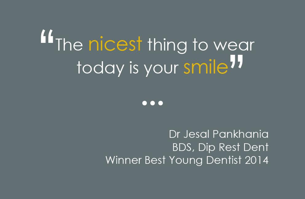 Krishna Solanki Designs - Dr Jesal Pankhania - Business card - Back