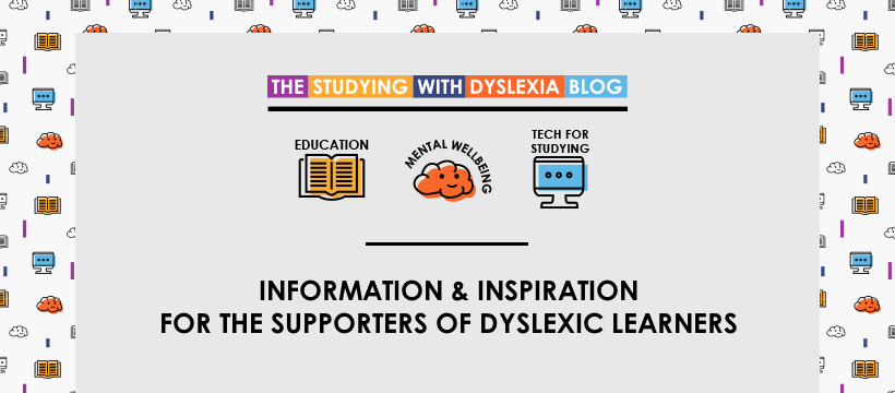 The Studying With Dyslexia Blog - Facebook - Cover image.jpg