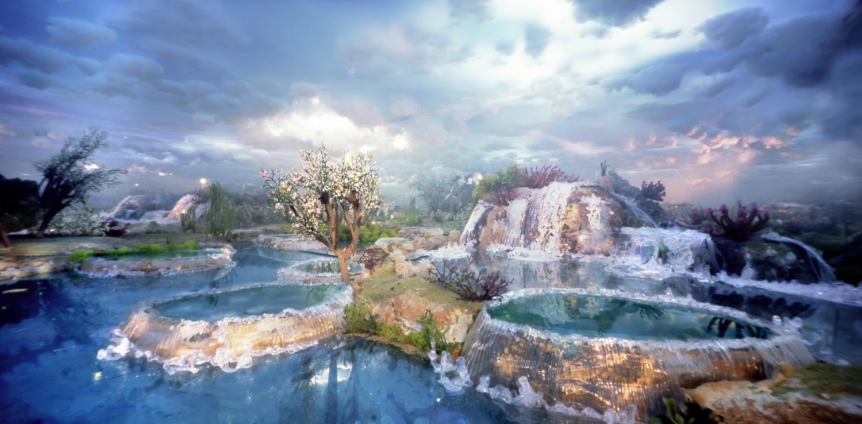 Huanglong waterfalls 2
