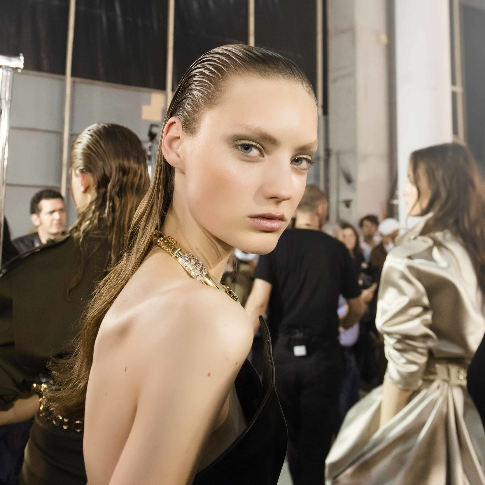 Alexandre Vauthier Ready to Wear Autumn/Winter'17 Backstage