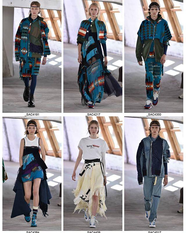 @sacaiofficial #sacai #parisfashionweek #mixshow #mensweek #paris #fasion #fashionshow #japanesedesigner #mode #moda #Catwalkpictures #catwalk #runway