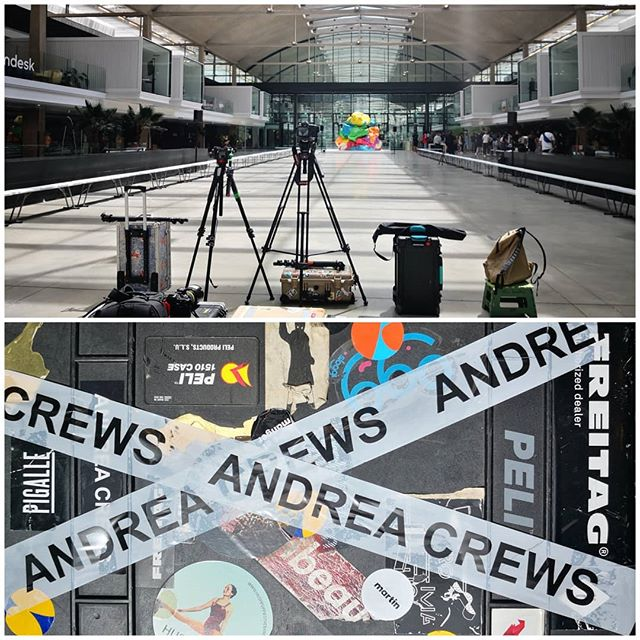 @andrea_crews  #ParisFashionWeek #mensweek #mixshow #paris #fashionweek #fashionshow #stationf #techcenter #frenchtechcenter #runway #Catwalkpictures #catwalk