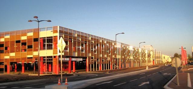 Livraison du 2eme Parking Silo du Centre Commercial de Mérignac Soleil.