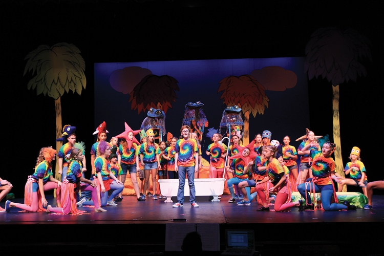 """SummerStage Musical Theatre Camp Presentation of """"Seussical Jr."""" (2014)"""