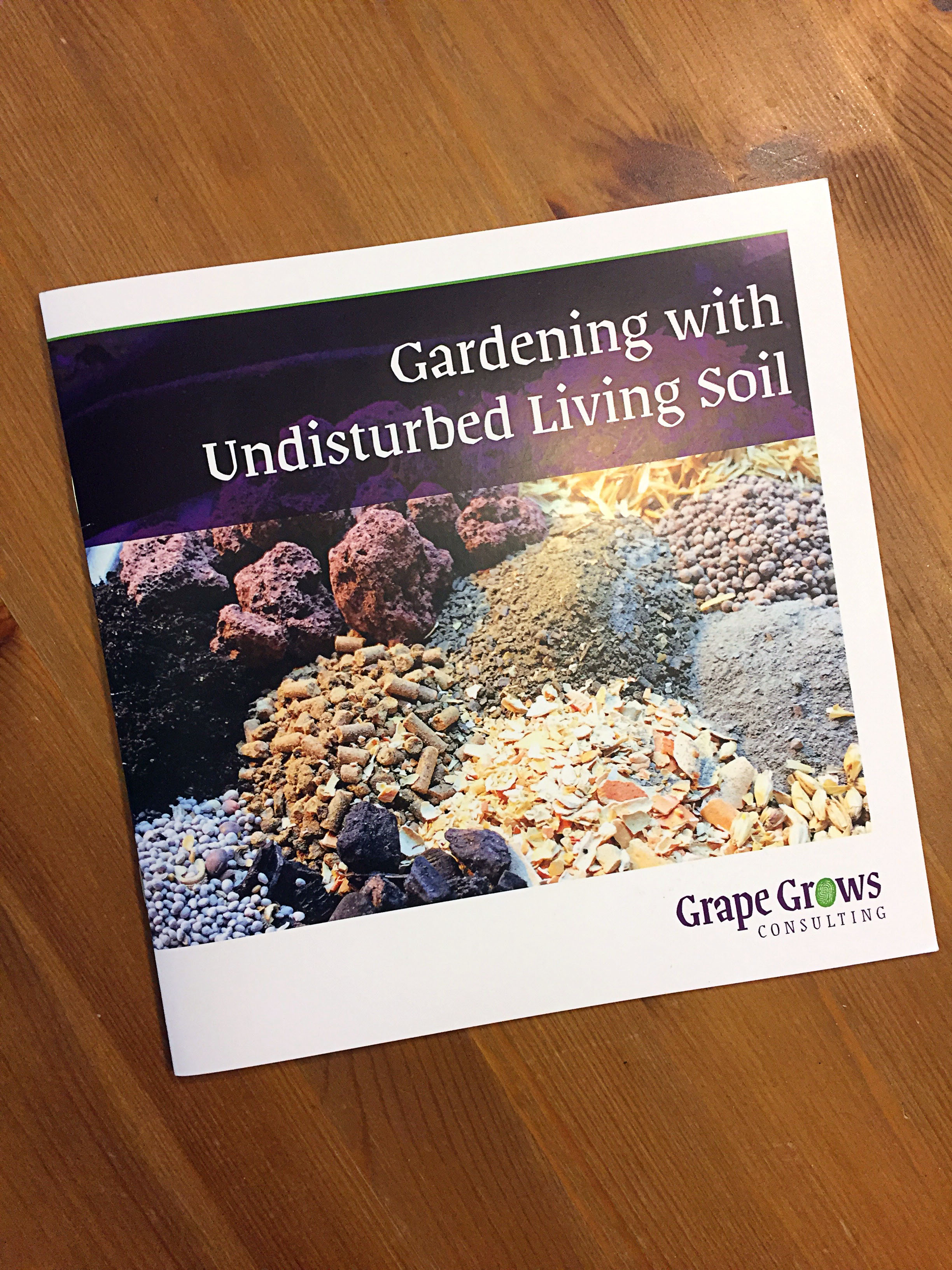 Gardening with Undisturbed Living Soil